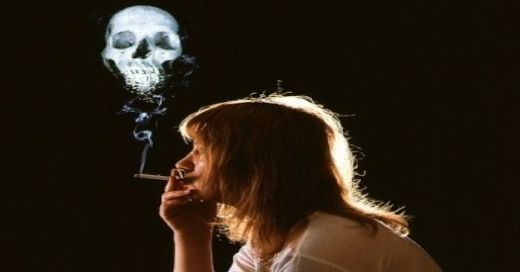 The dangers of smoking on women